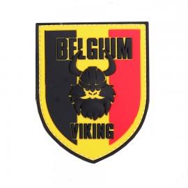 Belgium Viking Color 3D PVC Patch