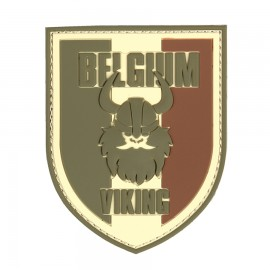 Belgium Viking Multi 3D PVC Patch
