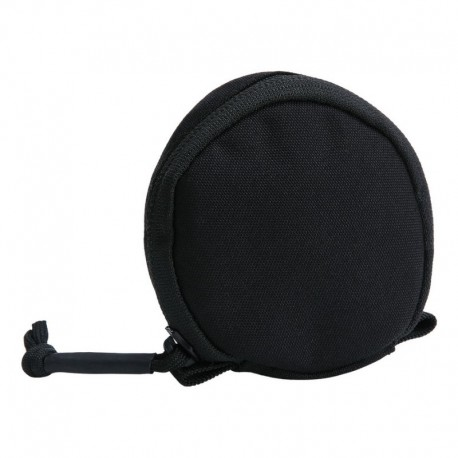 TF-2215 Circular Pouch Black