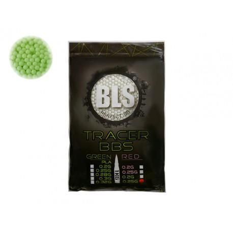Perfect BB BIO pellets 0,25g 1 kg Tracer Green