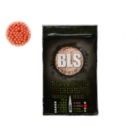 Perfect BB Pellets 0,25g 1 kg Tracer Red