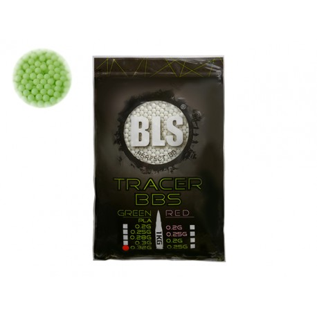 Perfect BB Pellets 0,32g 1 kg Tracer Green