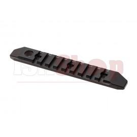 7-Slot M-LOK and Keymod Aluminum Rail Black