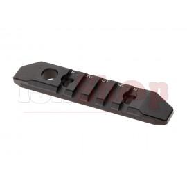 5-Slot M-LOK and Keymod Aluminum Rail Black