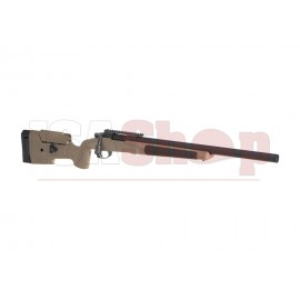 MLC-338 Bolt Action Sniper Rifle Deluxe Edition 130m/s Dark Earth