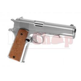 M1911 Silver Spring Gun