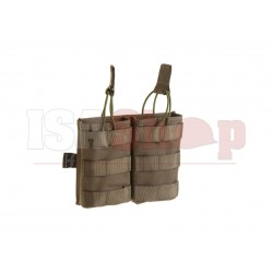 5.56 Double Direct Action Mag Pouch Ranger Green