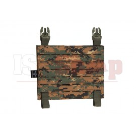 Molle Panel for Reaper QRB Plate Carrier MARPAT Woodland