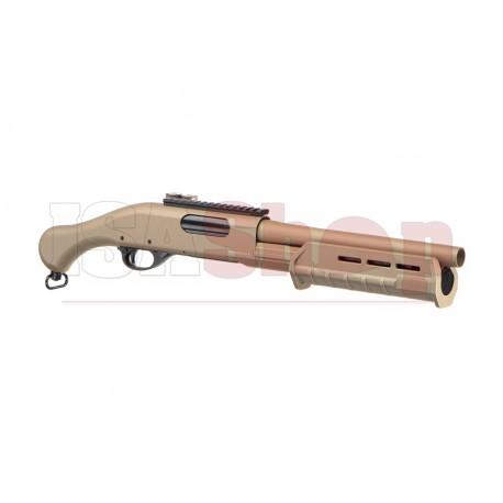CM357 3-Shot Shotgun Metal Version Tan