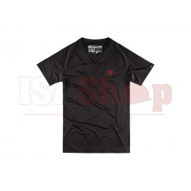 T.O.R.D. Athletic Fit Performance Tee Black