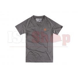 T.O.R.D. Athletic Fit Performance Tee Wolf Grey