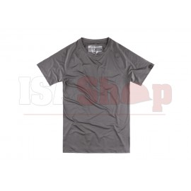 T.O.R.D. Covert Athletic Fit Performance Tee Wolf Grey