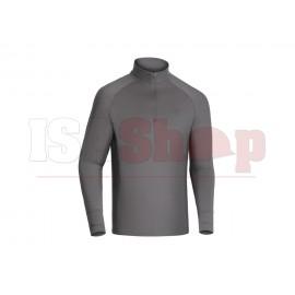 T.O.R.D. Long Sleeve Zip Shirt Wolf Grey