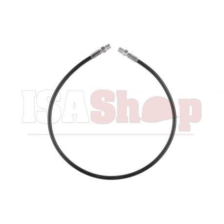 High Presure HPA Hose - Straight 60cm (Outer 1/8 NPT) Black