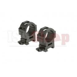 30mm CNC Mount Rings Medium