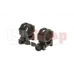 QD 25.4mm CNC Mount Rings Medium