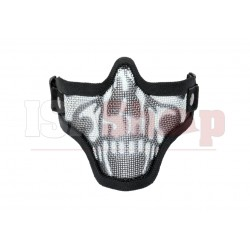 Steel Half Face Mask Death Head