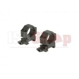 25.4mm CNC Mount Rings Low