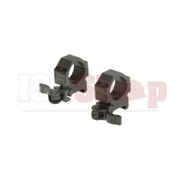 QD 25.4mm CNC Mount Rings Low