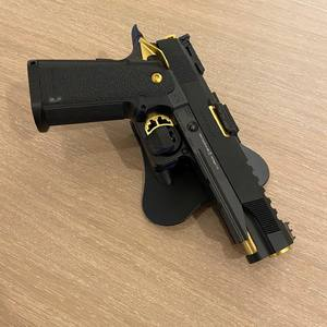 Available soon! Quick draw holsters that allow you to use a flashlight! #airsoft #isashop