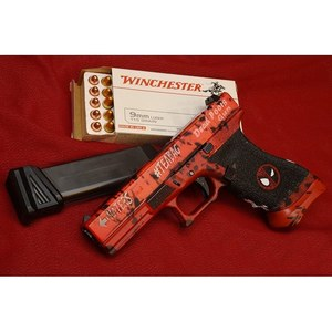 DeadPool 17 now live on our site! #airsoft #isashop #deadpool #pistol